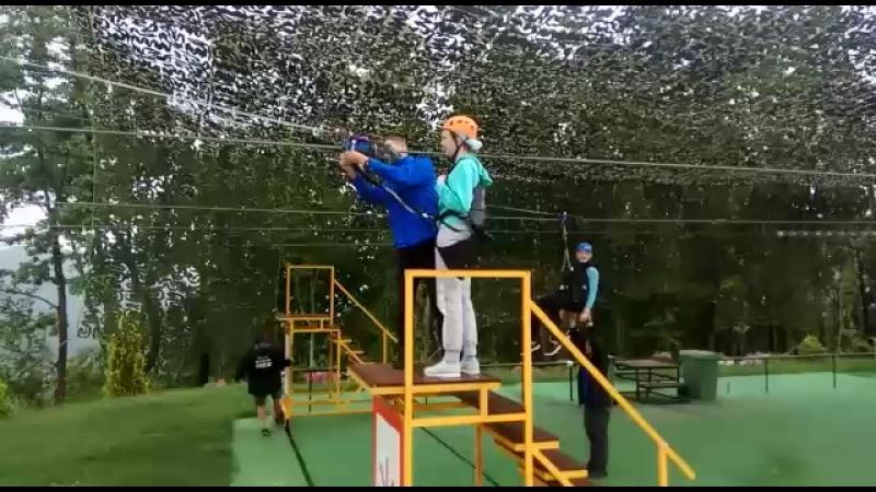 Зиплайн скайпарк