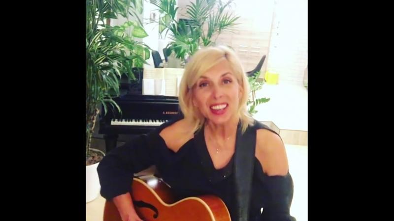 Алёна Свиридова - приглашение на концерт в бар Мумий Тролль (24.03.2018)