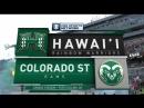 NCAAF 2018 Week 00 Hawai'i Rainbow Warriors Colorado State Rams 2Н EN
