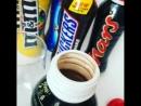 Молочные коктейли Mars Snickers Twix