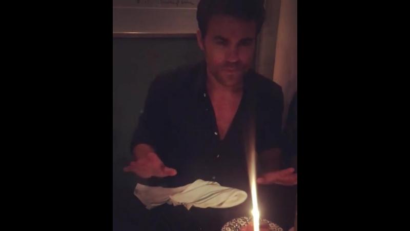 24 07 18 Обновление инстаграма при участии Пола Уэсли сестра актера поздравляет его с днем рождения