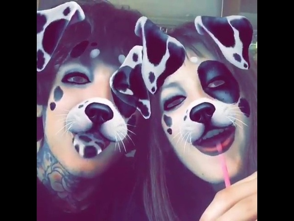 Oliver Sykes and Alissa Salls - Happy Valentines day