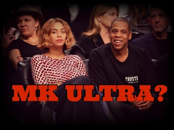 MK ULTRA - Beyonce acting strange at a basketball game