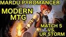 MODERN Mardu Pyromancer vs UR Storm Match 5 Closing Comments