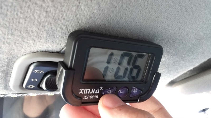 How to set the time on a Digital Clock (Xinjia XJ-613B)
