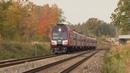 Дизель-поезда ДР1АЦ-185311 близ ст. Крустпилс / DR1AC-185311 DMU's near Krustpils station