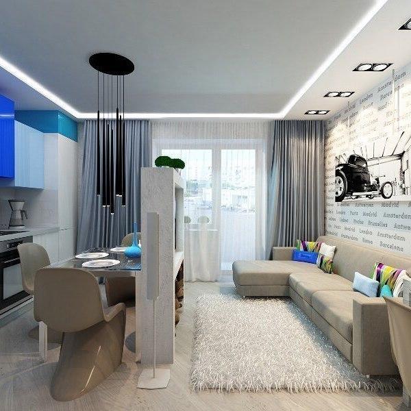 Квартира-студия площадью 27 кв.