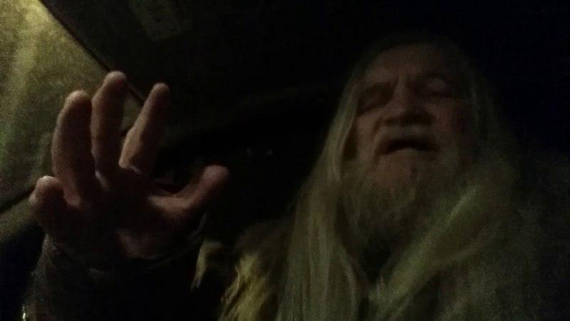 Вечерний прогноз из машины с колез...14 4 18...С 10...