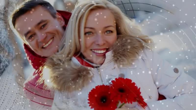 Юлия Альбах и Дмитрий Мазур - Белая Вьюга [HD]