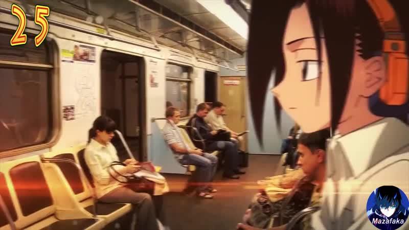 Смешные моменты из аниме 8   Аниме приколы   Аниме под музыку   Кошки за 1200, Это был TRAP