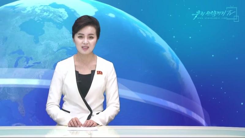 《허망한 로숙단식》중 한방 맞은 김성태 -남조선사회각계가 조소- 외 1건