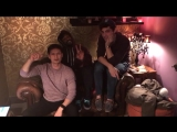 Harry Shum Jr., Matthew Daddario & Isaiah Mustafa say