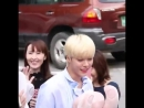 Hansol noticed every single fan there