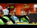 фитнес клуб Манго Кузнецк тренировка фитбол