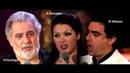 Placido Domingo Rolando Villazon Anna Netrebko - Trinklied aus La Traviata(Vienna 2008)