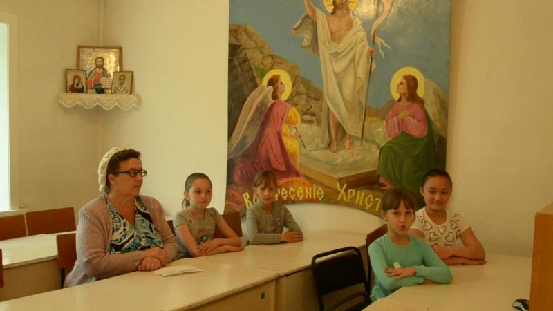 Поздравление от воскресной школы, учителей и детей!