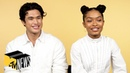 Yara Shahidi Charles Melton on 'The Sun Is Also a Star' | MTV News