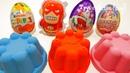 3 Color Kinetic Sand in Сoca Cola   Surprise Toys Kinder Surprise Eggs