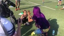 SBMKV_Video | Sasha Banks works out with GEMS Wellington Academy students in Dubai