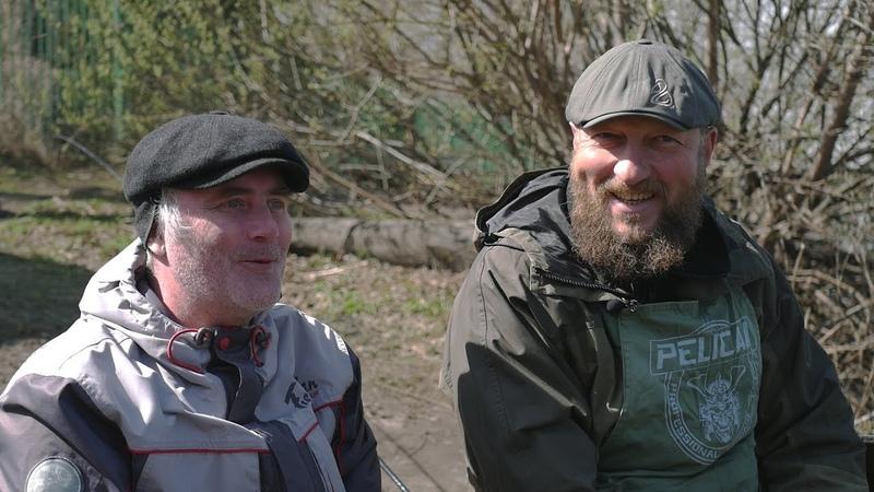 Ловля сига ранней весной по открытой воде,фидером,на платном водоеме.КРХ Белая дача.