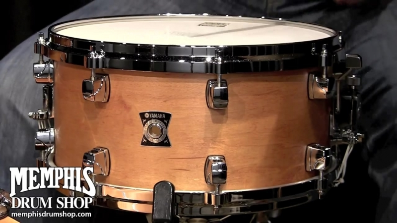 Yamaha 13 x 6.5 Sensitive Series Maple Snare Drum - Vintage Natural