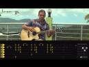 Как играть ПИРАТЫ КАРИБСКОГО МОРЯ на гитаре _ Часть 1 Видео урок табы