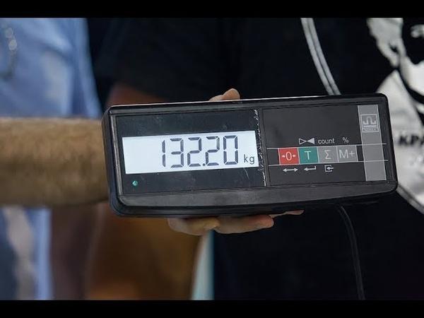 Руслан Мальцев Попытка побития рекорда Бруно Юста Гиря 80 5кг КУБОК КРАЕВСКОГО 2018