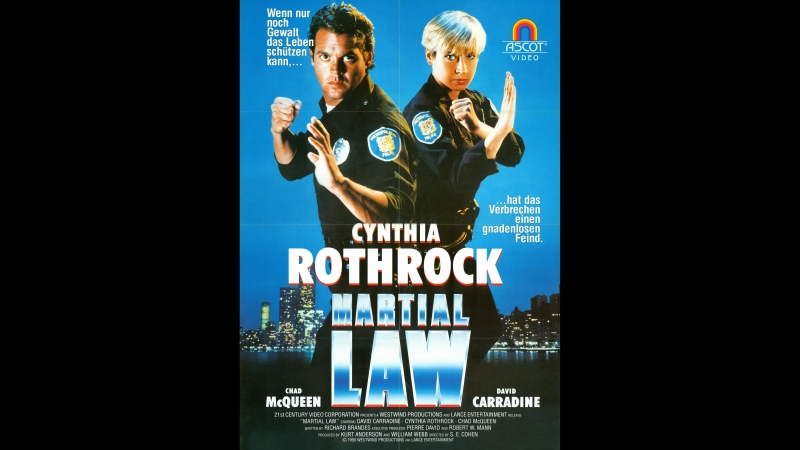 Комендантский час Законы рукопашного боя Martial Law 1990