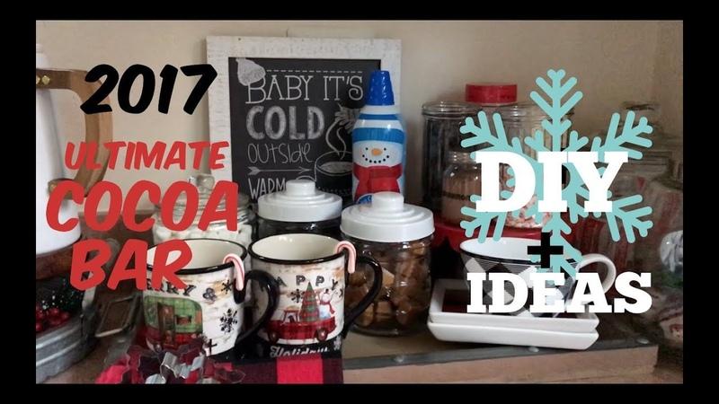 2017 Ultimate Hot Cocoa Bar-DIY