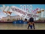 12.5.2018 ЧМ-1 A-class Fast 4 место №78 Илья Тимофеев - Екатерина Черданцева