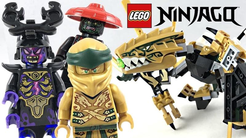 LEGO Ninjago Golden Dragon review 2019 set 70666