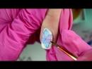 Два легких дизайна ногтей Роспись Акварелью mp4