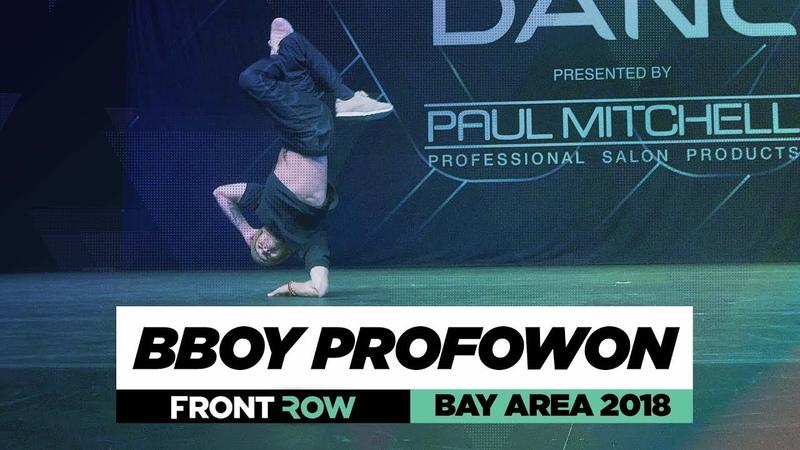 Bboy Profowon | FrontRow | World of Dance Bay Area 2018 | WODBAY18 | Danceproject.info