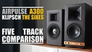 AirPulse A300 vs Klipsch The Sixes || 5 Track Comparison