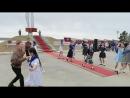 Танцевальный ансамбль Молодость Эркээни с танцем Синий платочек. Покровск, Якутия. 9 мая 2018.
