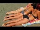 Hot Beach Girls Summer CRAZY BEACH WORKOUT - BEST MOMENTS OF SUMMER