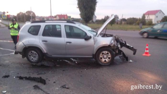 г. Барановичи: в результате ДТП пострадало два человека