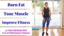 HIIT 65: 20 minute full body HIIT workout to burn fat, build muscle, increase fitness