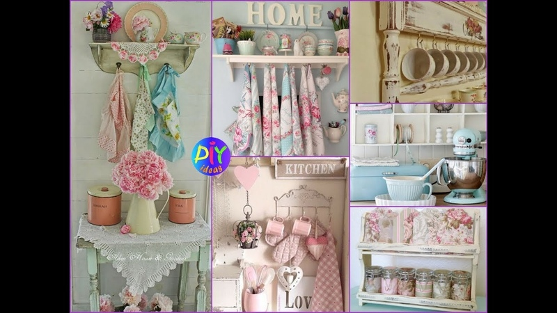 50 Gorgeous Shabby Chic Kitchen Decor and Design Ideas