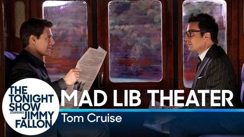 Mad Lib Theater with Tom Cruise (Mission Impossible Edition)
