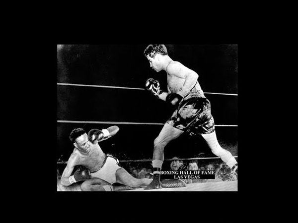 Raul Raton Macias Retains Crown Beats Nate Brooks - September 26, 1954