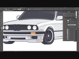 Varun Kumar // BMW E30 (Speed Art)