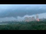 Возможный торнадо 04.07.2018 над Москвой, район СЗАО