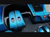 Honda civic 4d кастом покраска