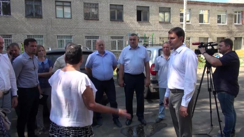Визит врио Губернатора Андрея Клычкова в г. Мценск 15.08.2018
