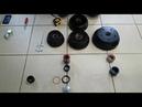 Ступичные подшипники и барабаны Кнотт Аутофлекс для тормозных осей легковых прицепов