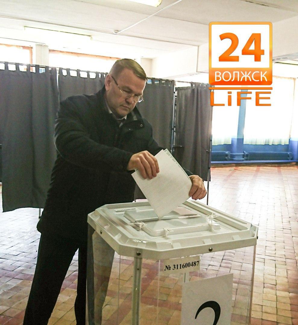 В Волжске  проголосовали 46% избирателей.