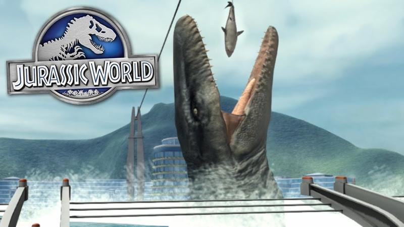 VISIT JURASSIC WORLD - Jurassic Explorer Gameplay