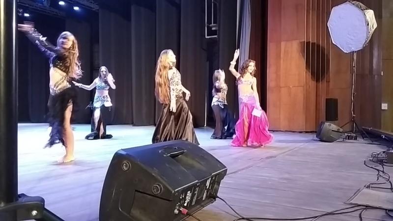 Юниоры Продолжающие Импровизация. Бердянск AURA bally dance festival