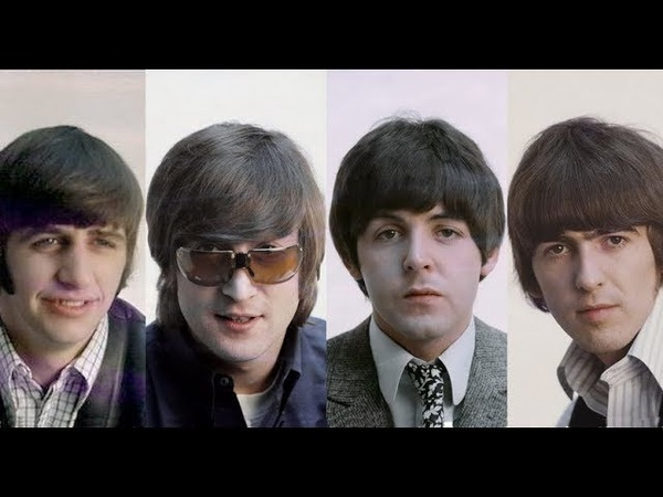 ♫ The Beatles*1966 Portrait session at the EMI studios for the recording of REVOLVER 1966